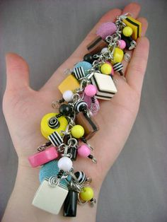 Liquorice Allsorts Bauble Bracelet - Lots of Pictures :) - JEWELRY AND TRINKETS