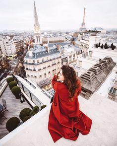 #paris #love #red