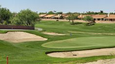 Golf course living at Sun City Oro Valley