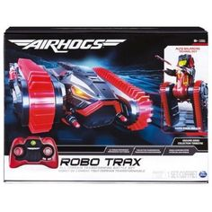 Air Hogs Robo Trax All Terrain Tank With Robot Transformation