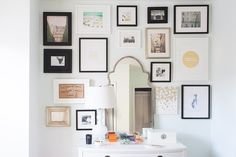 Photos of Gallery Walls and Ideas For Hanging Art | POPSUGAR Home
