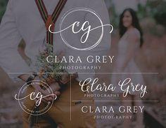 WEDDING LOGO IDEA-Logo Design Photography Brand Set Premade Logo Photography