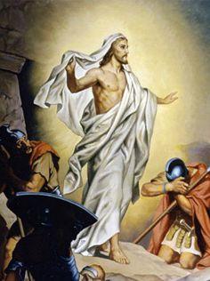 He is risen.  He is risen indeed.
