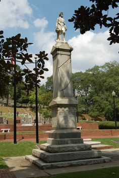 Nathan Bedford Forrest: A Hero For His Saving Of Rome, Georgia In 1863  N.B. Forrest Statue Monument: Myrtle Hill Cemetery.