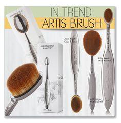 artis brushes gold. artis brush elite smoke 3 set ($86) ❤ liked on polyvore featuring beauty products, makeup, makeup tools, brushes, dark gray, eye brow \u2026 brushes gold n