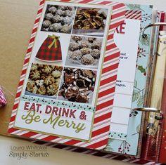 December Daily 2016 - baking - Scrapbook.com
