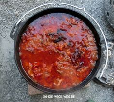 Dutch-Oven-Party! | Sin die Weck weg - Tapas, Grill N Chill, Dutch Oven, Outdoor Cooking, Bbq, Slow Cooker, Grilling, Curry, Food And Drink