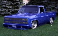 low ride chevy trucks | Custom 1981 Chevy Lowrider Pickup Truck - Pictures