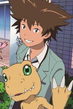 Nuevos Taichi y Agumon en la edición de Septiembre de la revista Animedia!!