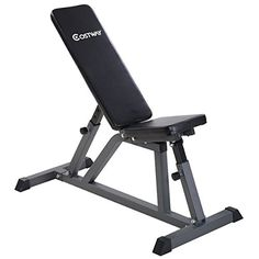 "Goplus Adjustable Folding Sit Up AB Incline Abs Bench Flat Fly Weight Workout  Weight Capacity: 440 lbs;Unit Weight: 36lbs  Rectangular tube size: 45 x 45 x 1.3mm;Inner tube size: 38 x 38 x 1.5mm  Pad Thickness: 1.6'';Size of the pad: 28.3"" x 9.4""(L x W) ; 13.8"" x 9.4""(L x W)  Whole size: 45.3"" x 20.5"" x 47.2"" (L x W x Max H);Adjustable height: 45.3'' (8 levels adjustable)  Package include: 1 x Incline Sit Up Board (need assembled), 1 x Instruction"