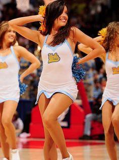 team Ucla pantyhose dance and