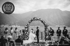 wedding ceremony villa monastero
