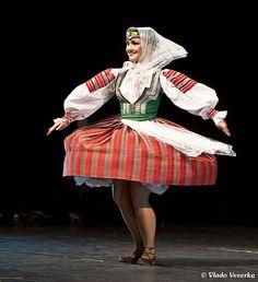A folk costume of Slovakia. Bohemian Girls, Bohemian Art, Folk Clothing, Heart Of Europe, Beautiful Costumes, We Are The World, Folk Costume, Traditional Dresses, Harajuku