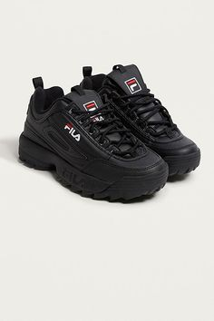 FILA Disruptor Black Trainers. kinda thinking of going down this route again since the last century, is it a good idea?