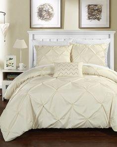 Jennifer Adams Kennedy 7 Piece Reversible Full Queen Comforter Set