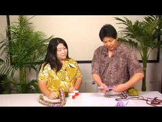 The Joy of Crafting 158/1 - Three-Straw Flat Lei version 2 - YouTube