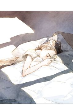 Beloved (Jaeliu) 12 - Read Beloved (Jaeliu) Online For Free - Stream 5 Edition 1 Page All - MangaPark Anime Art Girl, Manga Art, Illustration Mode, Illustrations, Yuumei Art, Sleeping Drawing, Sleeping Pose, Cartoon Kunst, Sad Art