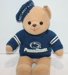 Vintage Penn State Nittany Lions Mascot Plush #Penn #PennStateNittanyLions Nittany Lion, Lions, Tennessee, Plush, Teddy Bear, Ebay, Vintage, Lion, Teddy Bears