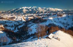 Transylvanian Alps by Adrian Petrisor Winter Goddess, Hotel Transylvania, Winter Is Coming, Alps, Romania, Winter Wonderland, Mount Everest, Journey, Mountains