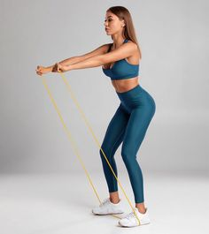 18 Best Resistance Band Exercises For Women For Full-Body Workout 18 Best Resistance Band Exercises For Body Toning & Fitness Resistance Bands With Handles, Best Resistance Bands, Resistance Band Exercises, Body Exercises, Fitness Exercises, Toning Workouts, Fit Board Workouts, At Home Workouts, Stretch Band