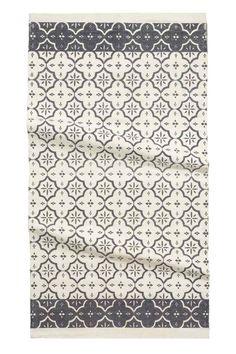 Tapis en coton | H&M 19.99€