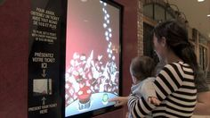 INTERACTIVE RETAIL WINDOWS - Christmas Promotion by 2XM Interactive & SG...