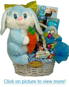 Deluxe easter delights gourmet gift basket for the whole family delight expressions easter bunny gift basket for kids easter gift for boys delight negle Image collections