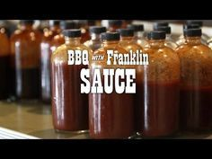 If you're one of *those* who like sauce, learn this basic Texas recipe to serve alongside your meat. This video is an excerpt from BBQ with Franklin: The Pay. Pineapple Barbecue Sauce Recipe, Barbecue Sauce Recipes, Bbq Sauces, Smoker Recipes, Rib Recipes, Texas Bbq Sauce, Franklin Bbq, Carolina Bbq Sauce, Sauces