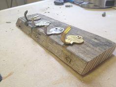 Get Rich or DIY Tryin': Key Holder Using Old Keys