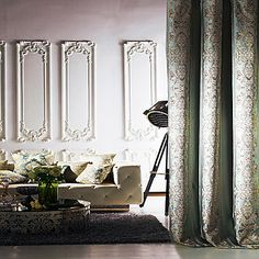 (Two Panels) Michelle Luxury® Classic The Flame of The Mysterious Middle East Energy Saving Curtain - USD $ 99.99