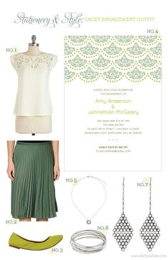 Stationery & Styel: Lacey Bridesmaid Outfit  | Flights of Fancy