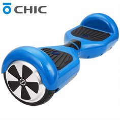 """Chic 6.5"""" 2 Wheel Electric Hoverboard Samsung Battery Led Light Self Balancing Electric Scooter Smart Balance Hoverboard US Plug"""