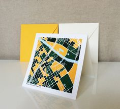 Baylor University Notecards // These would be so great as Baylor graduation invitations or thank-you cards!