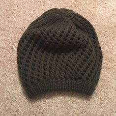 Urban Outfitters Olive Green Beanie