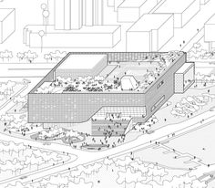 How Architecture Is Born: 7 Parallel Perspectives by OPEN Architecture and the Buildings They Helped to Shape - Architizer