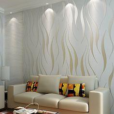 papel tapiz contemporáneo 0.53m geométrica pared * 10m cubriendo el arte no tejido de la pared de papel 2016 – $40.99