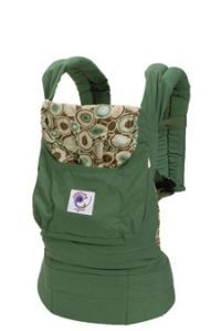 e6ca0a7c893 Ergobaby Organic Collection Baby Carrier (Green River Rock) Product Shot I  tried everything with my first born and finally purchased this for my  second.
