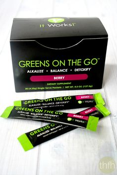 """Greens On The Go"" from It Works! Global 