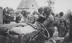 Easy Company, 101st Airborne, during the Market Garden campaign. (Holland 1944)