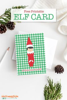 Free Printable Elf C