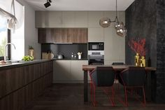 Nice Modern Kitchen Set Design 33
