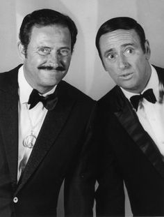 "Rowen & Martin - ""Laugh In"". For the kids out there, these two were responsible for some of the first on-air jabs against the Vietnam War."