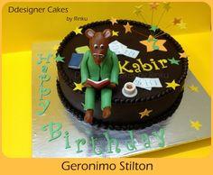 Geronimo Stilton Cake