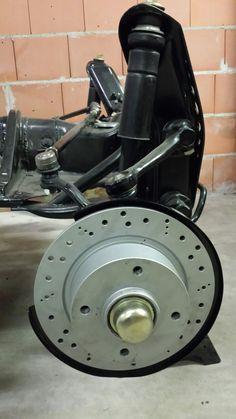 Disk brakes at my VW 181 - VW Thing - VW Trekker - Perfect...