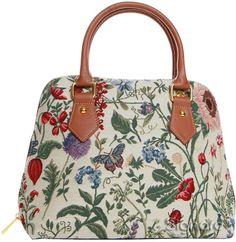 Handbag Queen Signare Women's Morning Garden Shoulder Bags Lady 29 Collection Convertible One Size Multicoloured