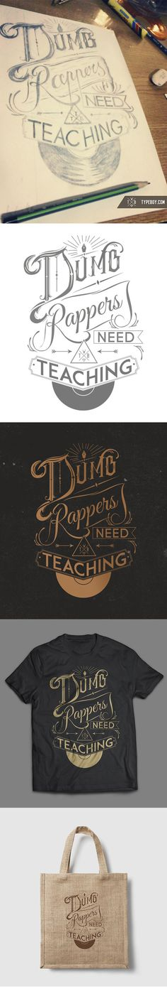 """""""Dumb rappers need teaching"""" From scratch 