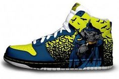 Batman Custom Nike Air Force One's