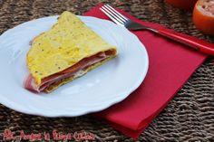 Omelette con Pomodoro e Prosciutto Cotto