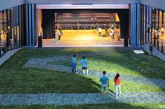 OPEN Architecture Creates a Youth and Cultural Center at One With the Site's…