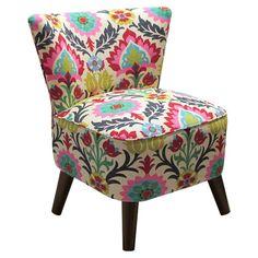Bina Accent Chair // Mexicana inspired fabric theme #designinspiration #furnituredesign